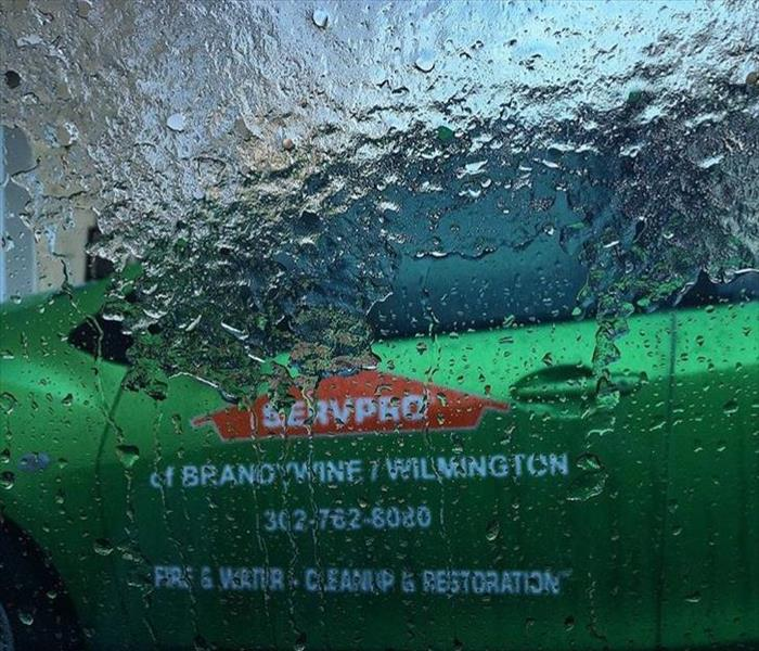 Icy Day at SERVPRO