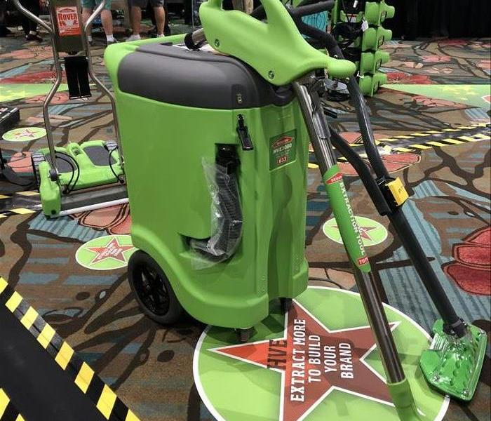 Why SERVPRO Portable Extractors