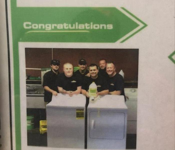 Community SERVPro of WIlm. Wins lottery
